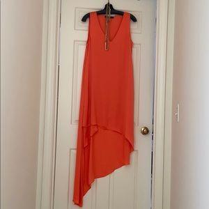BCBG High Low Dress